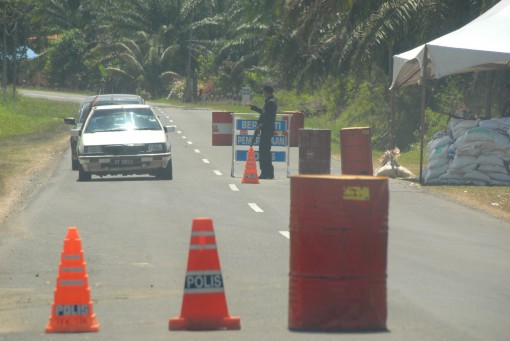 roadblocks in the jungle