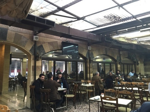 Old cafe in Damascus